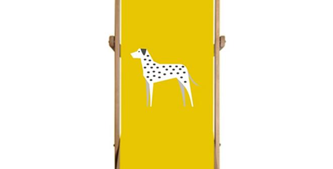 Single Deckchair - Dotty Dallies