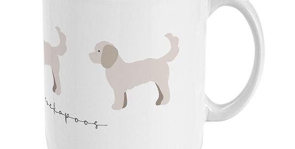 Trio Ceramic Mug - Clever Cockapoos