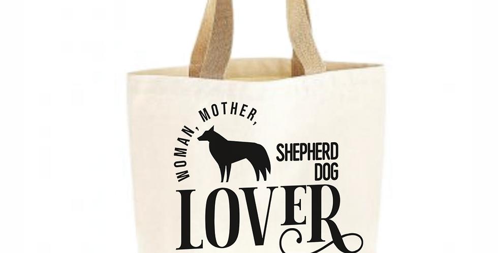 Classic Jute & Canvas Shepherd Dog Shopper
