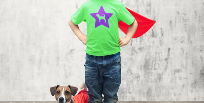 KIDS Bright Star Lime Tee - ANY BREED