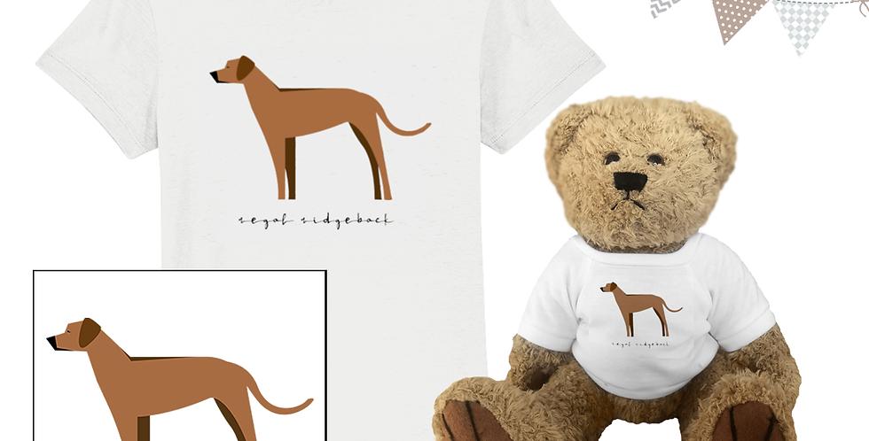 KIDS Teddy & Me - Regal Ridgebacks