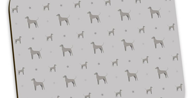 Grey Coaster Set (4) - Valiant Weimaraners