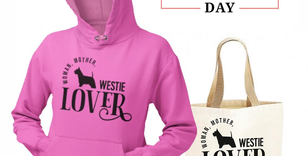 Westie Lover - Shopper & Hoodie Bundle
