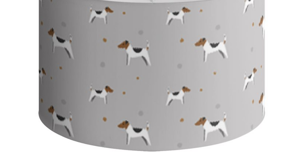 Grey Large Round Ceiling Shade - Jazzy Jacks