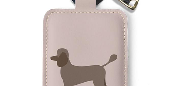 Luggage Tag - Playful Poodles