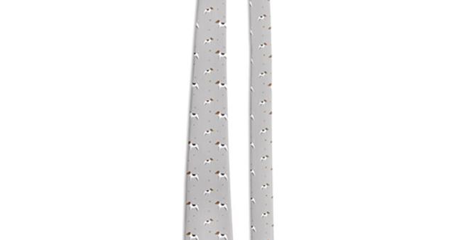 Grey Multi Tie - Jazzy Jacks