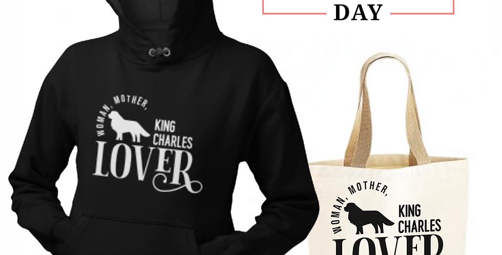 King Charles Lover - Shopper & Hoodie Bundle