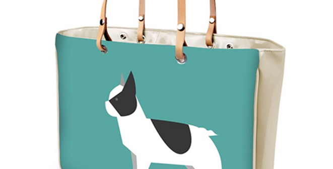 Large Tote Bag - Fancy Frenchies