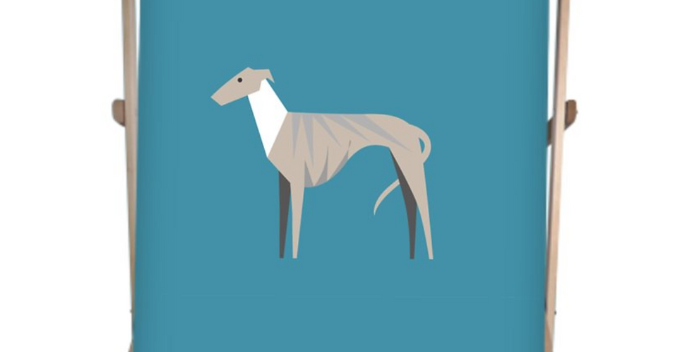 Double Deckchair - Whimsical Whippets