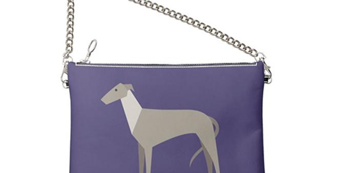 Colour Pop Leather Bag - Graceful Greyhounds