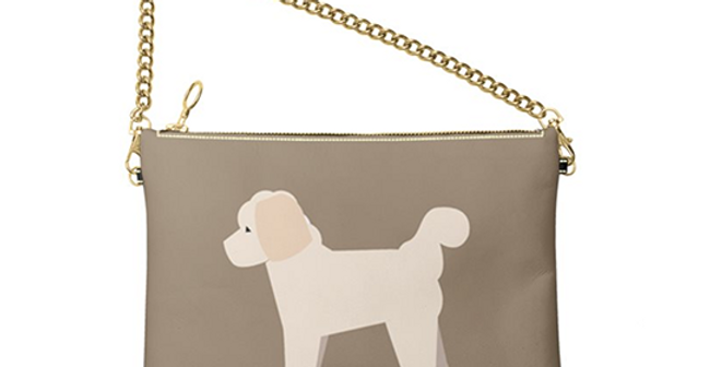 Colour Pop Leather Bag - Cuddly Cavachons