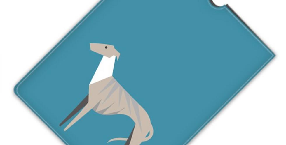 Leather iPad Case (Mini) - Whimsical Whippets