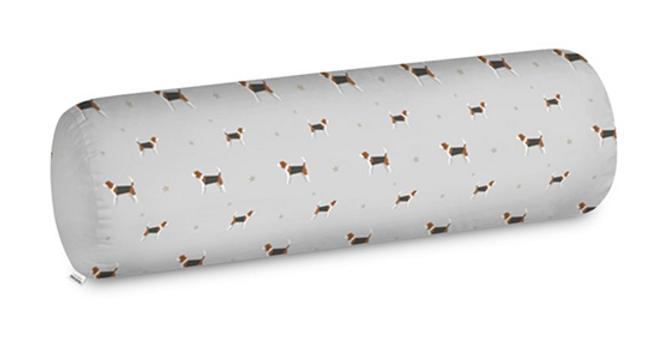 Big Bolster Cushion - Busy Beagles