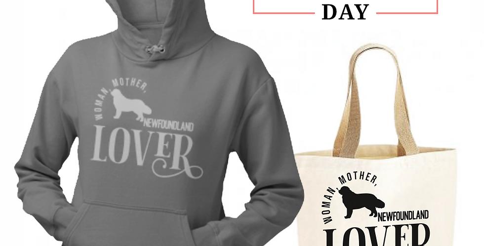 Newfoundland Lover - Shopper & Hoodie Bundle