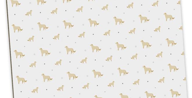 Grey Large Placemat Set (4) - Goldens Galore