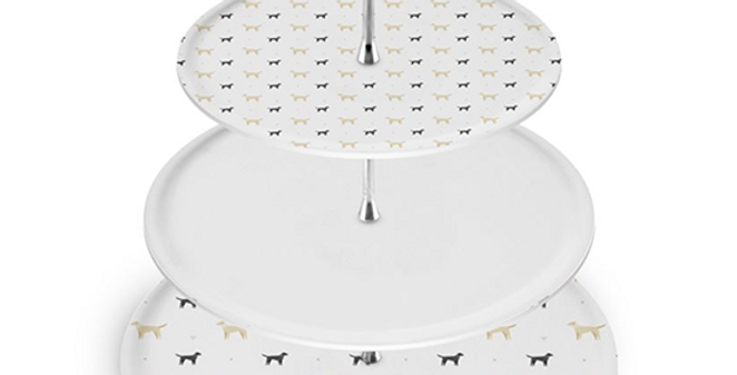 Grey Cake Stand - Lucky Labs