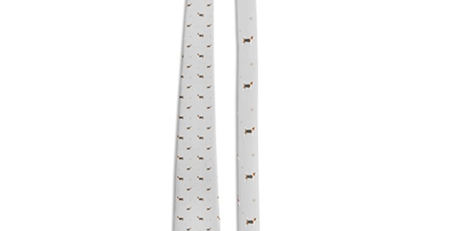 Grey Multi Tie - Busy Beagles