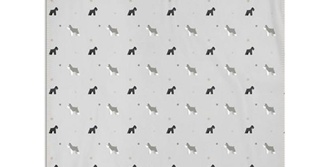 Grey Snuggly Fleece Blanket - Snazzy Schnauzers
