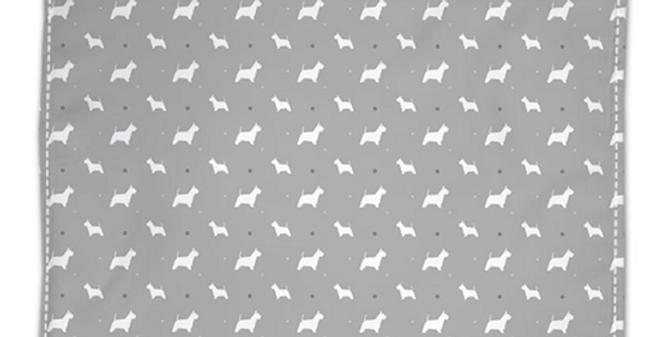 Grey Napkin Set (4) - Wonderful Westies