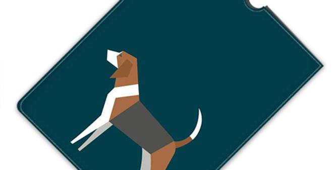 Leather iPad Case (Mini) - Busy Beagles