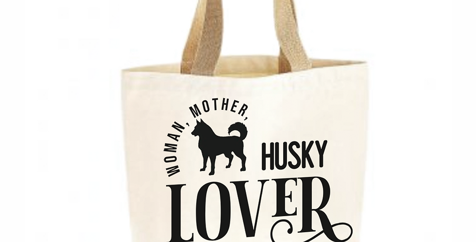 Classic Jute & Canvas Husky Shopper
