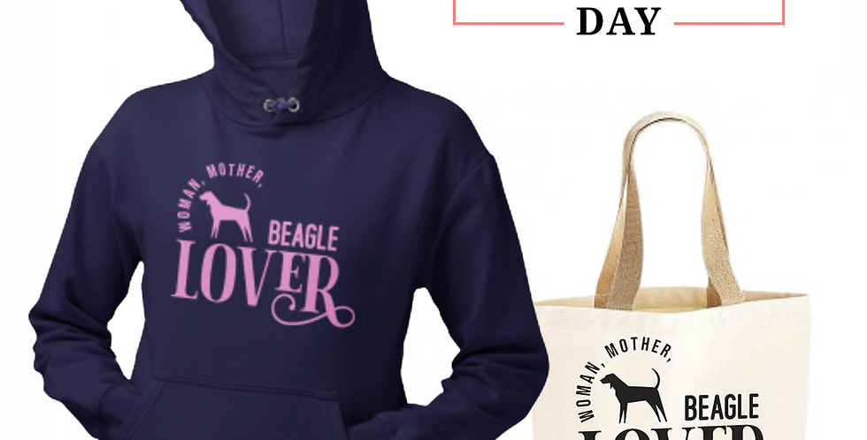 Beagle Lover - Shopper & Hoodie Bundle
