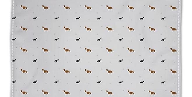 Grey Napkin Set (4) - Scrumptious Springers