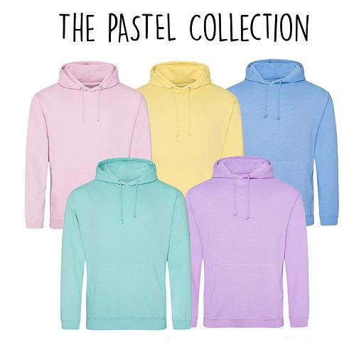 The Pastel Hoodie  - Customise Me