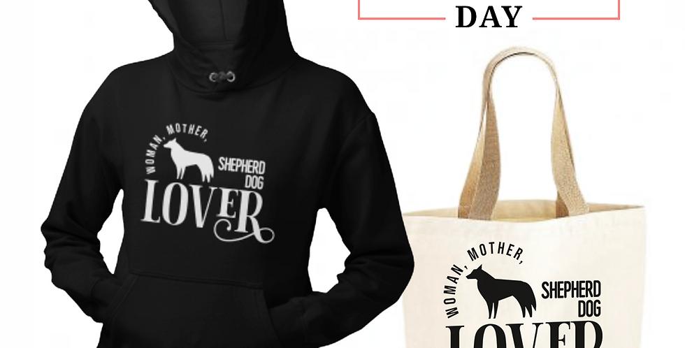 Shepherd Dog Lover - Shopper & Hoodie Bundle
