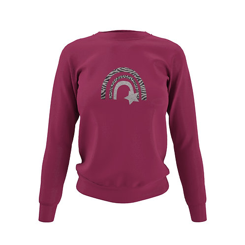 Burgundy Sweatshirt - Customise Me!