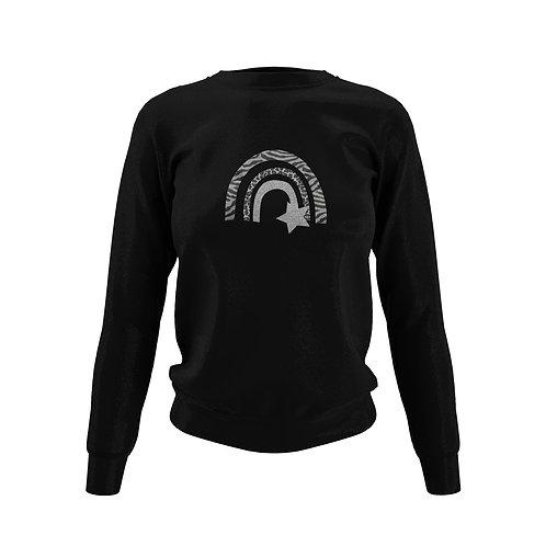 Jet Black Sweatshirt - Customise Me!