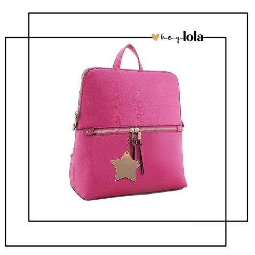 Dazzling Star Pink Rucksack