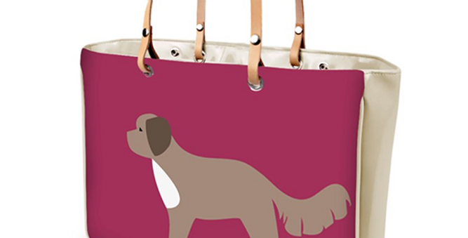 Large Tote Bag - Cute Cavapoos
