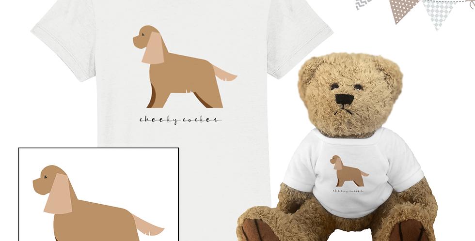 KIDS Teddy & Me - Cheeky Cocker