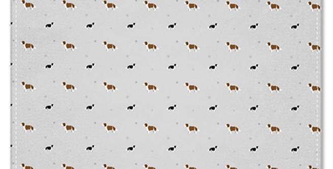 Grey Multi Pocket Squares (2) - Scrumptious Springers