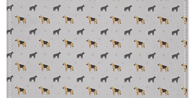 Grey Multi Pocket Squares (2) - Smart Shepherds