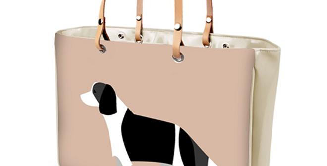 Large Tote Bag - Scrumptious Springers