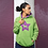 Thumbnail: Bright Star Lime/Magenta Hoodie - ANY BREED