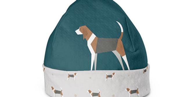Beanie Hat - Busy Beagles