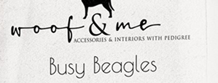 Big Dog Wrap Dress - Busy Beagles