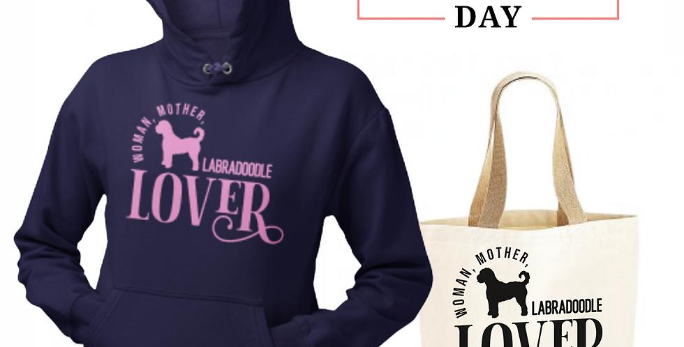 Labradoodle Lover - Shopper & Hoodie Bundle