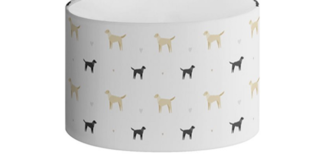 Oval Lampshade - Lucky Labs