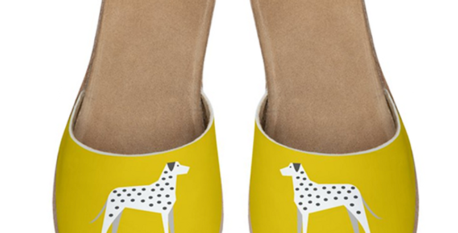 Leather Sliders - Dotty Dallies