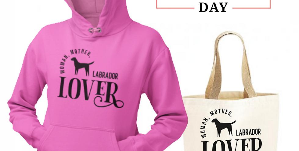 Labrador Lover - Shopper & Hoodie Bundle