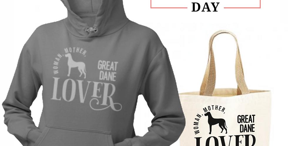Great Dane Lover - Shopper & Hoodie Bundle