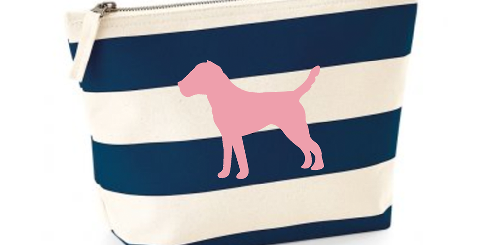 Boardwalk Accessories Bag - Navy Stripe