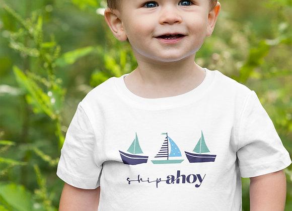 Boys Ship Ahoy! T-shirt