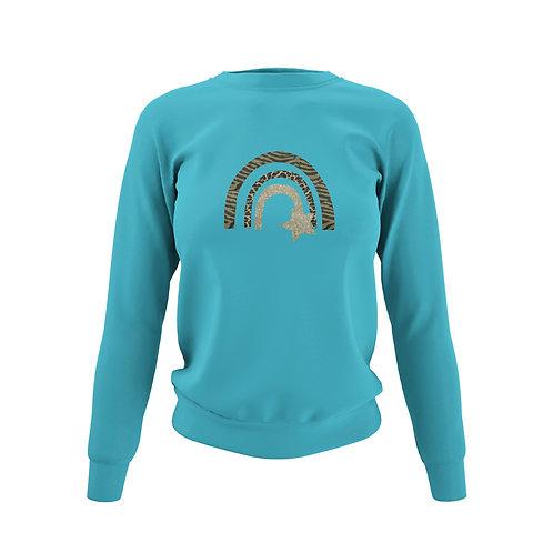 Hawaiian Blue Sweatshirt - Customise Me!
