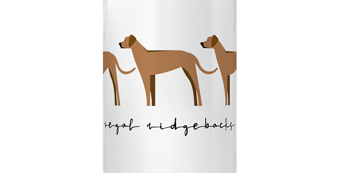 Trio Porcelain Mug - Regal Ridgebacks