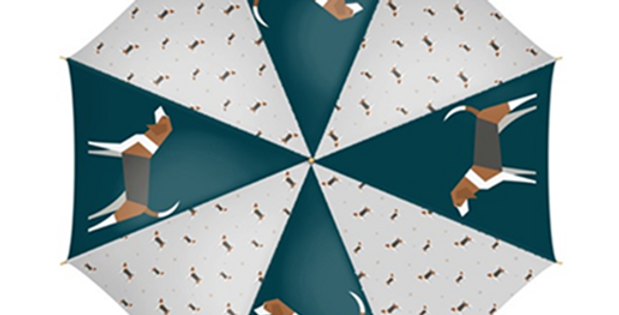 Large Umbrella - Busy Beagles